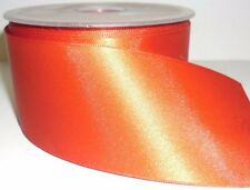 DOUBLE SIDED SATIN RIBBON 50MM, ASSORTED COLOURS, SOLD IN 5MTR LENGTHS, FREE P&P