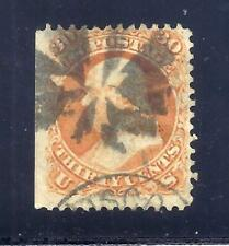 US Stamps - #71 - USED - 30 cent Franklin Issue - CV $210  - fancy cancel