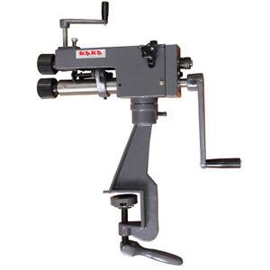 KAKA Industrial RM-08 177mm Throat Cast-Iron Bead Roller, 0.8mm Rotary Former
