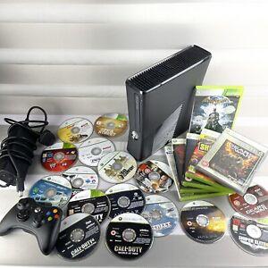 ⭐️ Xbox 360 Slim Console BIG Bundle - 250gb & 22 Games!!!