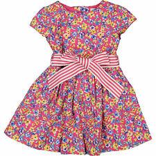 Ralph LAUREN Bebé Niñas 2pc Rosa Floral Vestido y Pantalones Set, 18 meses PVP £ 89