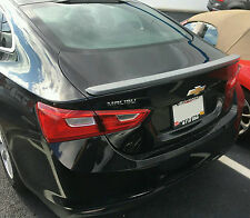 PAINTED CHEVROLET MALIBU FLUSH MOUNT FACTORY STYLE SPOILER 2016-2017