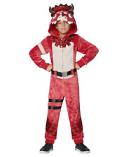 Fortnite Tricera Ops Costume Kids Boy Girl Size LG/XL Halloween Ships Today NEW