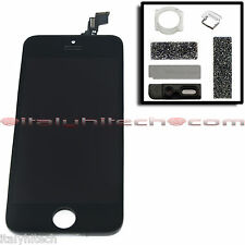 LCD SCREEN DISPLAY RETINA ORIGINALE X IPHONE 5C A1507 A1532 A1529 NERO + RICAMBI