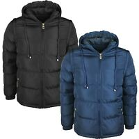 New Men's Headphone Padded Quilted Jacket Coat Winter Warm Bomber Coat MJK 278
