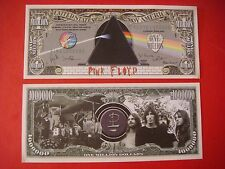 PINK FLOYD Band $1,000,000 One Million Dollar Bill ~ Roger Waters, David Gilmour