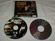 Planet of the Apes Limited Edition (PC, 2001) & 3-D Ultra Pinball Creep Night
