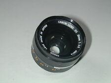 CANON LENS EX 3.5/35 mm objectif complément photo photographie