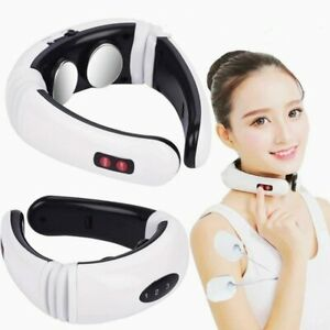 Electric Cervical Neck Massager Heated Relax Body  Musle Relief Pain Shoulder
