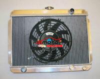 3 Row Aluminum Radiator for HOLDEN Gemini TX TC TD TE TF TG RB 1975-1986 + FAN