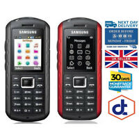 Samsung Solid Extreme GT-B2100 - Modern Black Red Unlocked Mobile Phone