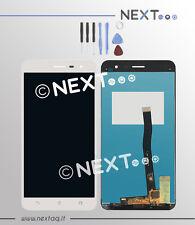 Schermo Display touch screen Asus Zenfone 3 ZE 552KL bianco + kit riparazione