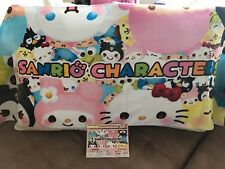 "Hello Kitty & Sanrio Characters Large Towel (55"") JAPAN Edition"