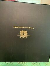1975 Papua New Guinea Proof Set in First-Day Covers with Large Silver Coins