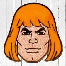 He-man Embroidered Patch Head MOTU Battlecat Skeletor Masters of the Universe