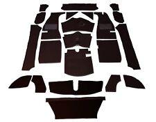 MG MGA Roadster '56-'62 4 Synchro Carpet Set - Black High Quality