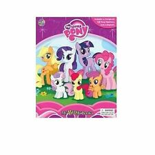 My Little Pony Busy Book 12 Figurines Story Book Playmat Activity Kids Books