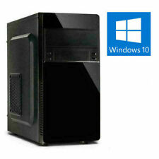 GAMER 8-CORE PC AMD RYZEN 7 5700G 8-32GB DDR4 SSD+HDD Radeon 8 Win10 Computer
