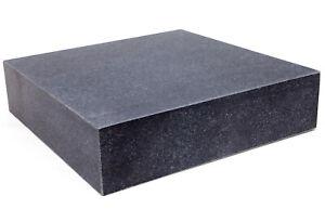 Messplatte 400x400x100mm Hartgestein Kontrollplatte Granit Platte Tuschierplatte