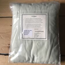 LL Bean Flannel Fitted Sheet Cotton Twin Extra Long