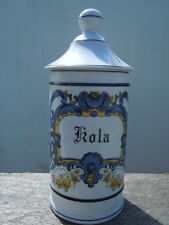 Pot pharmacie Kola porcelaine Limoges France