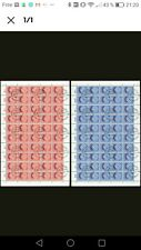 2 feuilles obliteres europa cept suisse 1959 cote 1500  euros
