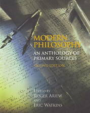 Modern Philosophy: An Anthology of Primary Sources, 0872209784, Very Good Book