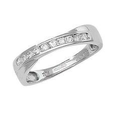 Unbranded Anniversary White Gold I1 Fine Diamond Rings