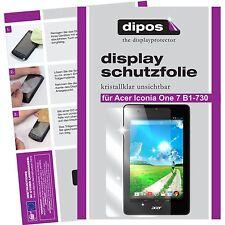 3x dipos Acer Iconia One 7 B1-730 Pellicola Prottetiva Transparente Proteggi