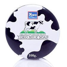 [YOKO] Milk Soap Whitening Balance Moisturizing Bar Soap 100g NEW