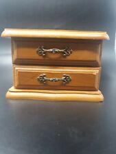 Vintage wooden Mini Jewellery Box, Ring Storage