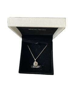 WARREN JAMES SILVER NECKLACE NEW IN BOX
