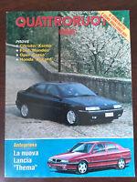 Quattroruote n 451 maggio 1993 - Lancia Thema, Opel Corsa, Citroen Xantia