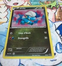 CARTE POKEMON - DRABY 6/20 NEUF HOLO - SERIE COFFRE DES DRAGONS