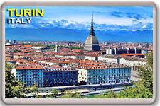 TURIN ITALY FRIDGE MAGNET SOUVENIR IMAN NEVERA