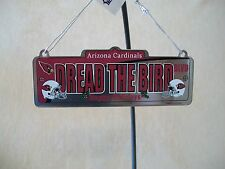 NFL Arizona Cardinals Metal Ornament By Forever Collectibles, NEW WITH TAGS!!!