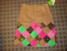 New NWT Lilly Pulitzer patchwork cord skirt 4