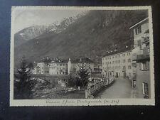 CARTOLINA BANNIO FRAZIONE PONTEGRANDE 1938 VIAGGIATA NUM SUBALPINA