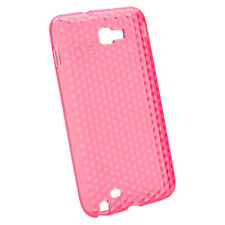 HOUSSE ETUI SILI-GEL PROTECTION ARRIERE ROSE SAMSUNG GT-N7000 GALAXY NOTE