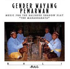 GENDER WAYANG PEMARWAN Balinese Shadowplay . CD .. NEW