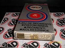 HILLMAN AVENGER 1970-76 GL GT SUPER DE-LUXE HEPOLITE PISTON RINGS STD NEW