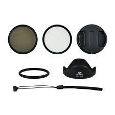 JJC SX-60K 58mm UV CPL Filter, Lens Hood Kit for Canon PowerShot SX60 HS,SX70 HS
