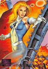 INVISIBLE WOMAN / 1995 Marvel Masterpieces (Fleer) Base Trading Card #51