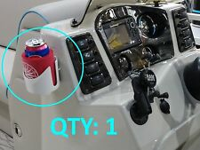 New Suction Cup No Drill Mount Drink Holder Koozie Can Bar Mug Buoy 11852 Koozy