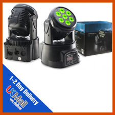 Stagg METAL 10 RGBW LED Compatto DJ Discoteca Club Festa Piccolo Movimento Luce anteriore