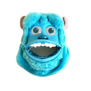 Disney Pixar Monsters University Sulley Mask Move Mouth Eyebrows Party Costume