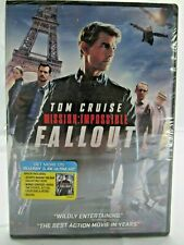 Mission: Impossible: Fallout on Dvd New Tom Cruise, Rebecca Ferguson
