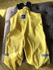 Jojo Maman Bebe 18 - 24 Months Yellow Waterproof Trousers. Excellent Condition