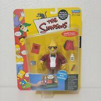 Playmates The Simpsons SUNDAY BEST GRAMPA Figure World of Springfield 2002