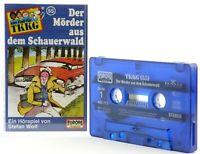 TKKG 56  Der Mörder aus dem Schauerwald Hörspiel  MC blau Kassette Europa